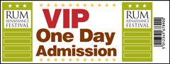 One Day VIP Admission Ticket - Rum Renaissance Festival